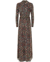 Tory Burch Leane Floral Gown - Lyst