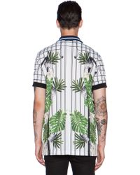 Clover Canyon - Electric Leaves Polo Shirt - Lyst