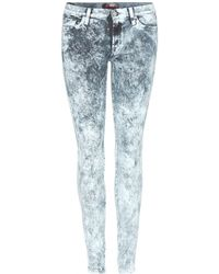 7 For All Mankind The Skinny Jeans - Lyst
