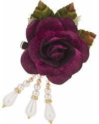 TOPSHOP - Rose Brooch Clip By Her Curious Nature - Lyst