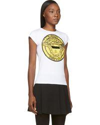 Versace Medusa Logo T-Shirt - Lyst