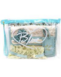 Betsey Johnson Plastic Travel Kit - Lyst
