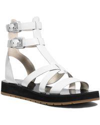 Michael Kors Judie Leather Gladiator Sandal - Lyst