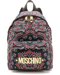 Moschino Bandana Backpack - Lyst