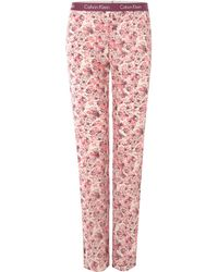 Calvin Klein Painted Spots Pj Pant with Logo - Lyst