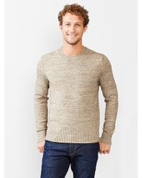 Gap Marled Crewneck Sweater - Lyst