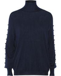 Vionnet Wool Turtleneck Sweater - Lyst
