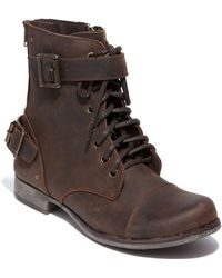 Dv By Dolce Vita Sargeant Leather Boots - Lyst