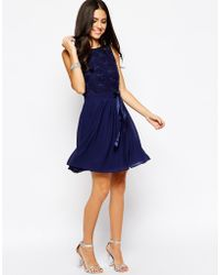 Tfnc Kimberley Fit and Flare Dress - Lyst