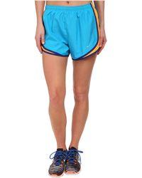 Nike Blue Tempo Short - Lyst