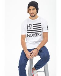 Forever 21 Homies Flag Graphic Tee - Lyst