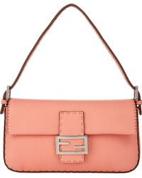 Fendi Selleria Baguette Bag - Lyst