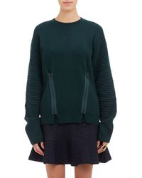 Opening Ceremony Double-zip Pullover Sweater - Lyst