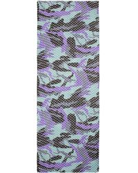 Rose & Rose - Foil Dot Camouflage Scarf - Lyst