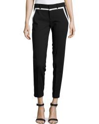 Vince Striped-Trim Pants - Lyst
