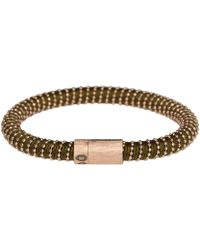 Carolina Bucci - Rose Gold Vermeil Khaki Twister Bracelet - Lyst
