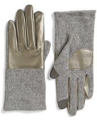 Echo - 'touch - Colorblock' Gloves - Lyst