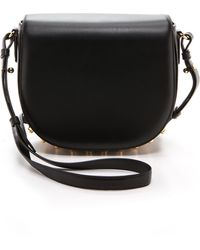 Alexander Wang Small Lia with Yellow Gold Hardware  Black - Lyst