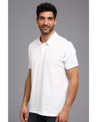 Calvin Klein Superior Cotton Sleep Polo - Lyst