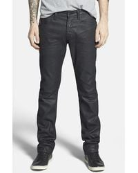 PRPS Men'S 'Glove' Coated Skinny Fit Jeans - Lyst