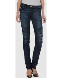 Rock & Republic   Distressed Skinny Jeans   Lyst