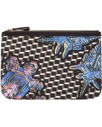 Pierre Hardy - Canvas Crystal Cube Print Pouch - Lyst