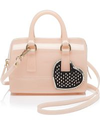 Furla Mini Bag - Candy Sweetie Satchel With Heart - Lyst