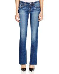 Jean Shop - Cindy Straight Leg Jeans In Twilight - Lyst