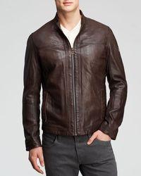 Hugo Boss Boss Orange Jips Leather Jacket - Lyst