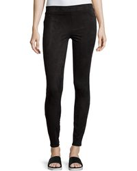 Spanx | Easily Suede Textured Leggings | Lyst