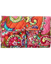 Vera Bradley All Wrapped Up Jewelry Roll - Lyst