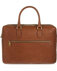 Mulberry Leather Heathcliffe Briefcase - For Men - Lyst