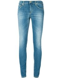 Dondup Faded Skinny Jeans - Lyst