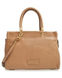 Marc By Marc Jacobs 'Too Hot To Handle' Leather Tote - Lyst