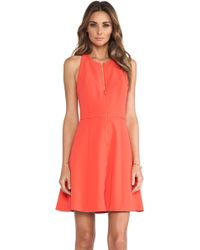 Trina Turk Pink Bishop Dress - Lyst
