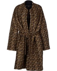 By Malene Birger Coat multicolor - Lyst