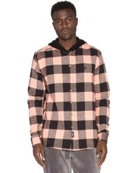 10.deep - Cb's Hooded Flannel - Lyst