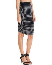 Splendid New Haven Stripe Skirt - Lyst