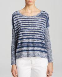 Eileen Fisher Scoop Neck Sweater - Lyst