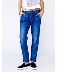 Free People Lachlan Utility Jean - Lyst