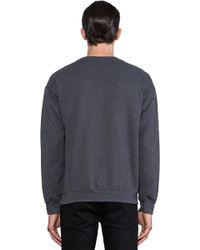 Brian Lichtenberg - Feline Sweatshirt in Charcoal - Lyst