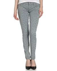 7 For All Mankind Gwenevere Super-skinny Jeans - Lyst