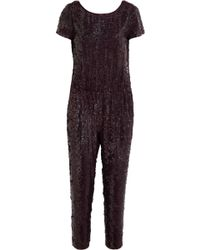 J.Crew Collection Sequined Jumpsuit - Lyst