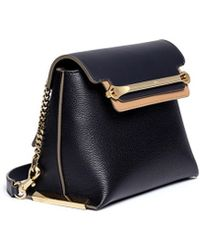 Chloé 'Clare' Small Leather Shoulder Bag - Lyst