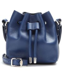 Proenza Schouler Tiny Leather Bucket Bag - Lyst