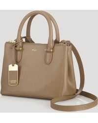 Ralph Lauren Lauren Mini Bag Newbury Double Zip - Lyst
