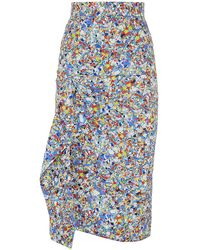 Roksanda Waveren Printed Pencil Skirt - Lyst