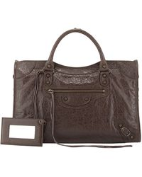 Balenciaga Classic City Bag brown - Lyst