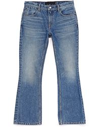 Alexander Wang | Trap Boot-cut Cropped Jean | Lyst
