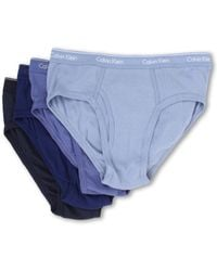 Calvin Klein Cotton Classic Low Rise Brief 4-Pack U4183 - Lyst